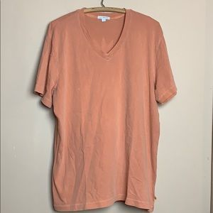 Standard James Perse V Neck Cotton T Shirt